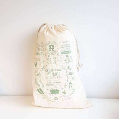 Totebag Kit DIY Ménage de Printemps
