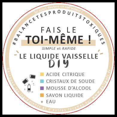 Stickers liquide vaisselle